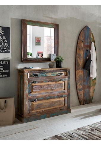 SIT Schuhkommode »Riverboat«, aus recyceltem Altholz, Shabby Chic, Vintage kaufen