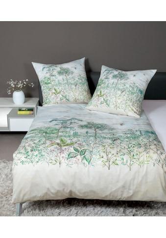 Janine Bettwäsche »Milano 45000«, mit floralem Muster kaufen
