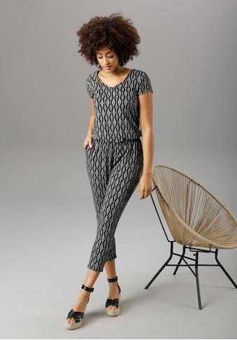 Aniston SELECTED Jumpsuit, mit praktischen Eingrifftaschen - NEUE KOLLEKTION kaufen