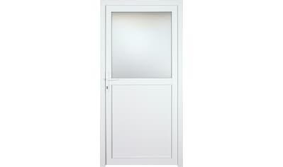 KM Zaun Nebeneingangstür »K602P«, BxH: 108x208 cm cm, weiß, links kaufen