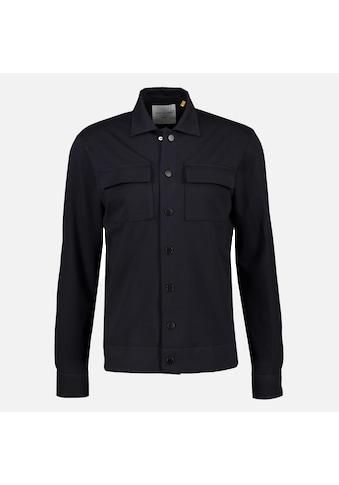NEW IN TOWN Langarmhemd »Overshirt unifarben« kaufen