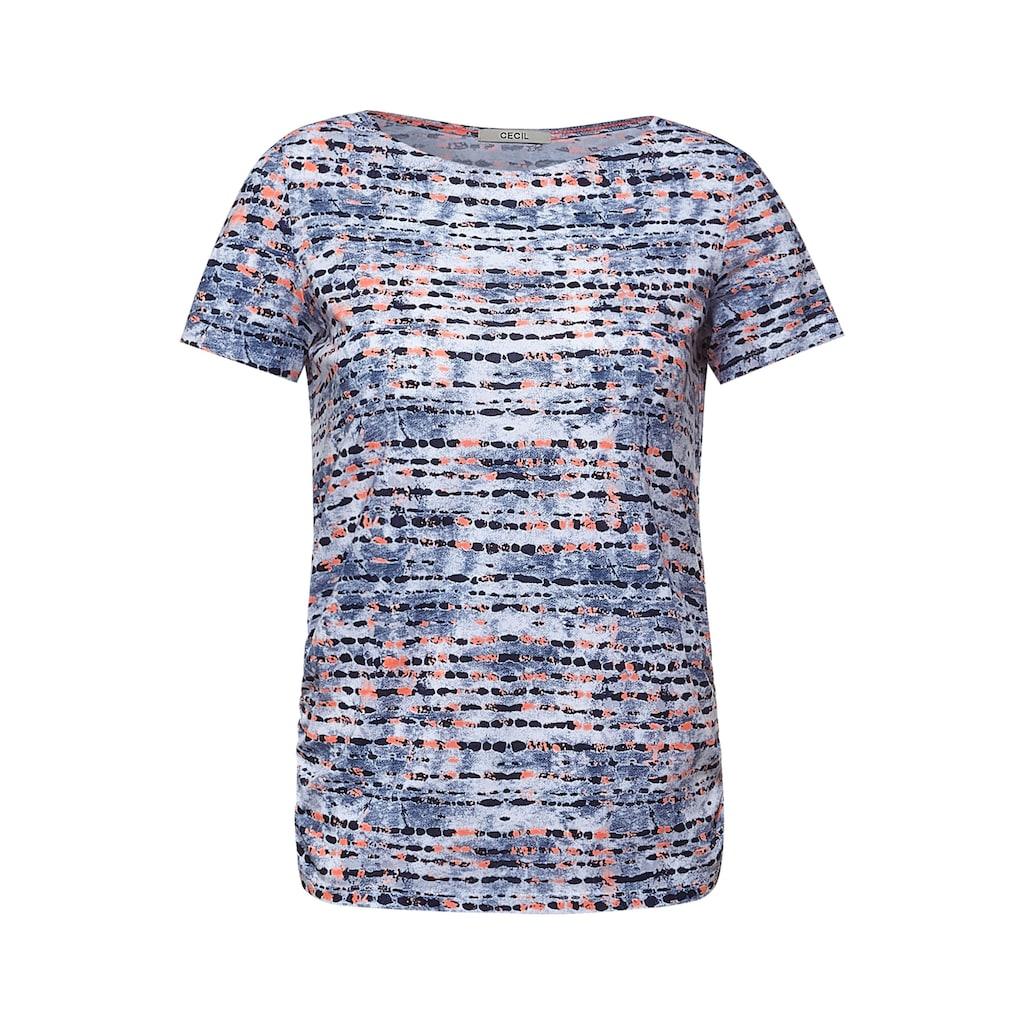 Cecil T-Shirt, mit Minimal Muster