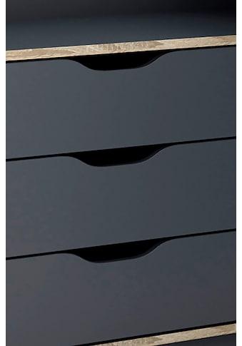 byLIVING Eckschreibtisch »Belfast«, Breite 129 cm, rechts oder links montierbar kaufen