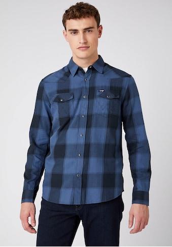 Wrangler Langarmhemd, Im Westernstil kaufen