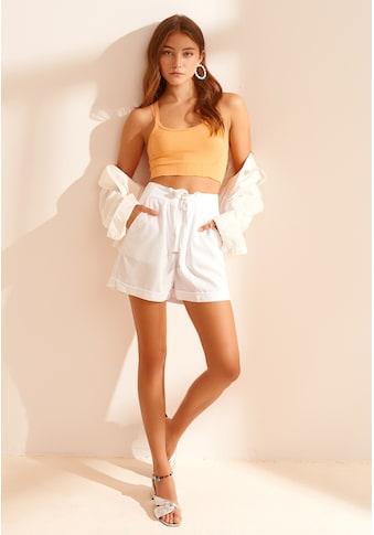 OXXO Shorts, mit Bindegürtel kaufen