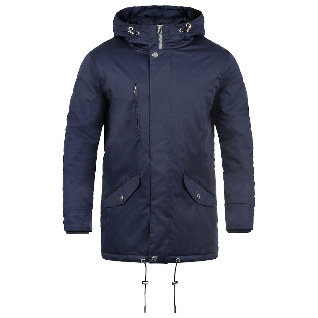 Indicode Winterjacke »Vancouver«, warme Jacke mit hochabschließendem Stehkragen