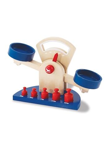 Pinolino® Kinder-Küchenwaage »Willy (6tlg.)«, (Set, 6 tlg.), aus Lindenholz gefertigt kaufen