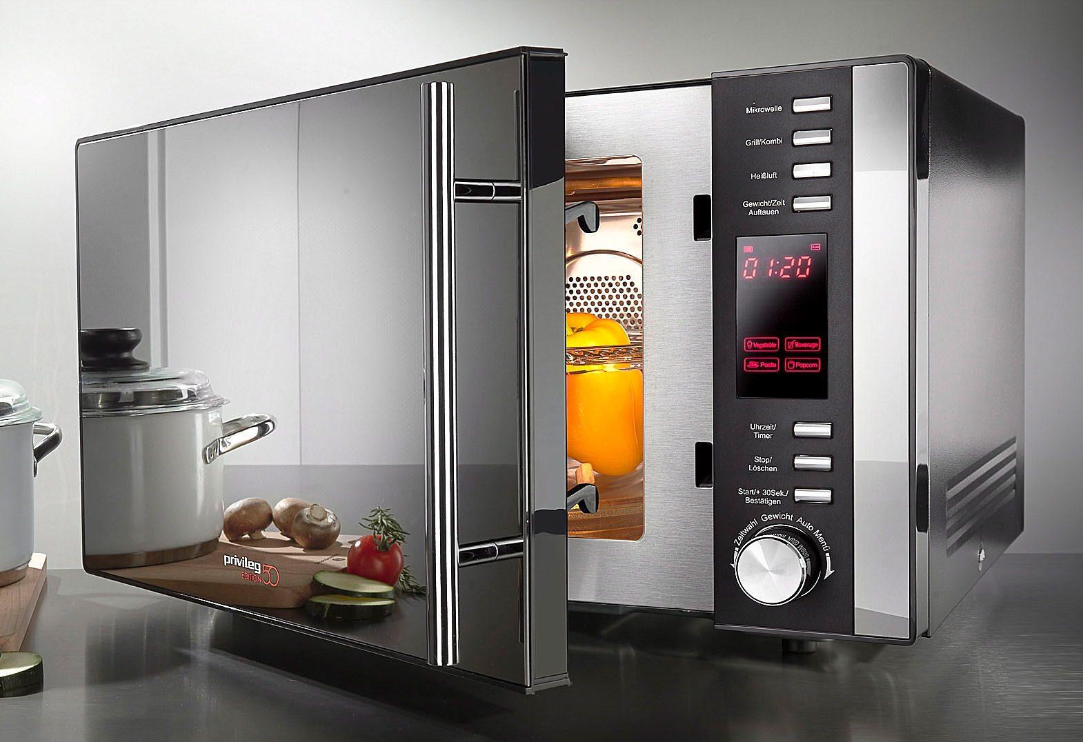 *Privileg Mikrowelle »285902«, Grill und Heißluft, 900 W, 3-in-1 Gerät*