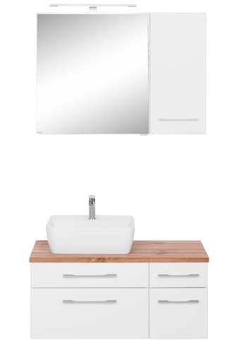 HELD MÖBEL Badmöbel-Set »Davos«, (3 St.), Breite 50 cm, mit extra Regal kaufen