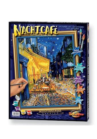 Schipper Malen nach Zahlen »Das Nachtcafé nach Vincent van Gogh (1853 - 1890)«, Made in Germany kaufen