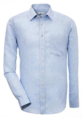Almsach Trachtenhemd aus Leinen kaufen