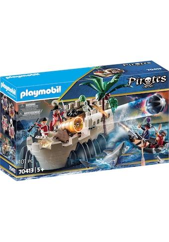 Playmobil® Konstruktions-Spielset »Rotrockbastion (70413), Pirates«, ; Made in Germany kaufen