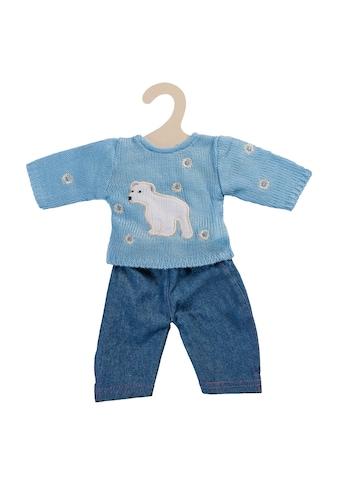 Heless Puppenkleidung »Pullover blau mit Jeans«, (Set, 2 tlg.) kaufen