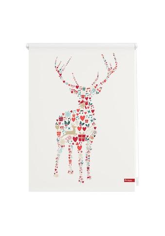 LICHTBLICK Seitenzugrollo »Klemmfix Motiv Rentier Weihnachten«, Lichtschutz, ohne... kaufen