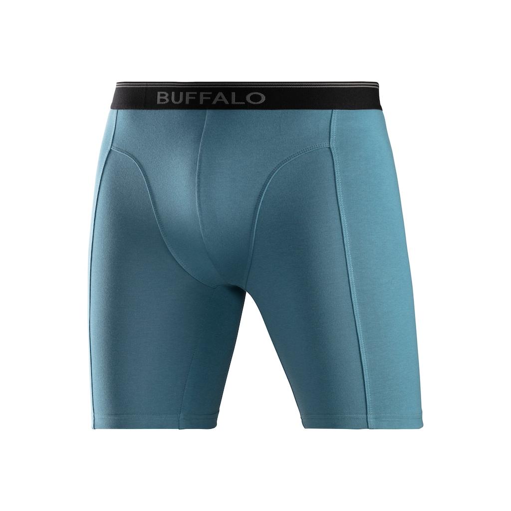 Buffalo Boxer, (3 St.), in langer Form mit Logodruck im Webbund