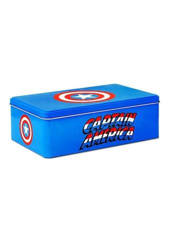 LOGOSHIRT Blechdose mit Captain America-Motiv kaufen