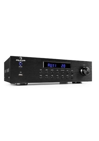 Auna 4 Zonen HiFi Stereo Verstärker 5x80W RMS Bluetooth USB CD kaufen