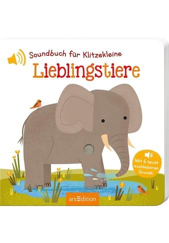 Buch »Soundbuch für Klitzekleine - Lieblingstiere / Natalie Marshall« kaufen