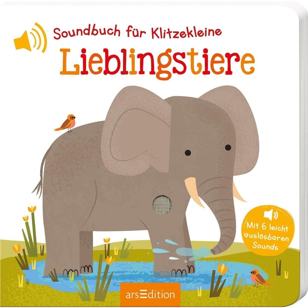 Buch »Soundbuch für Klitzekleine - Lieblingstiere / Natalie Marshall«