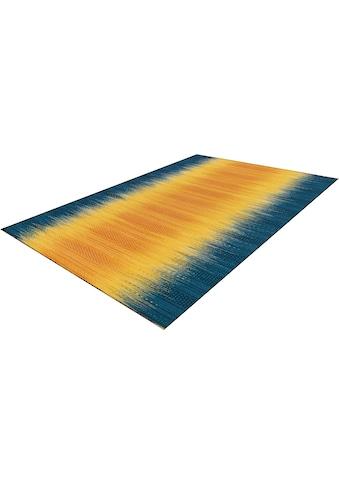 calo-deluxe Wollteppich »Pegia Sun 9070«, rechteckig, 6 mm Höhe, reine Wolle,... kaufen