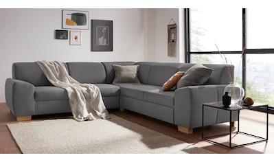 DOMO collection Ecksofa »Incanto«, wahlweise mit Bettfunktion kaufen