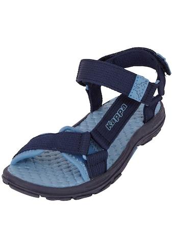 Kappa Sandale »MORTARA K«, zwei Klettverschl&uuml;sse f&uuml;r optimale Weitenregulierung<br /> kaufen