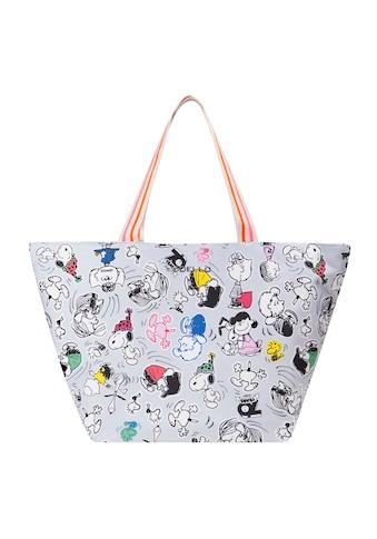"Codello ""PEANUTS"" Shopper mit Snoopy & Co. aus Canvas kaufen"
