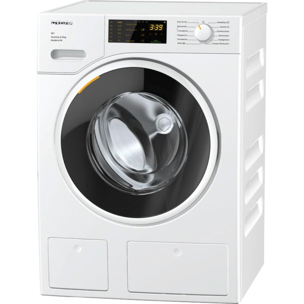 Miele Waschmaschine »WWD660 WCS TDos & 8kg W1 Lotosweiß«, WWD660 WCS TDos