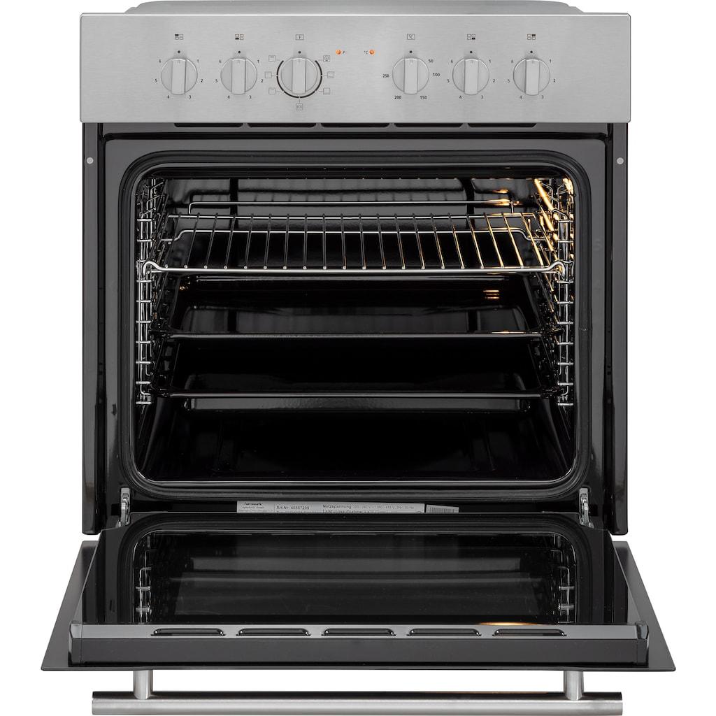 OPTIFIT Küchenzeile »Iver«, 210 cm breit, inkl. Elektrogeräte der Marke HANSEATIC, wahlweise mit oder ohne vollintegrierbaren Geschirrspüler, extra kurze Lieferzeit