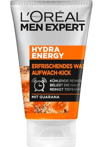 L'ORÉAL PARIS MEN EXPERT Waschgel »Hydra Energy Aufwach-Kick«, reinigt & pflegt die Haut mit Guarana kaufen