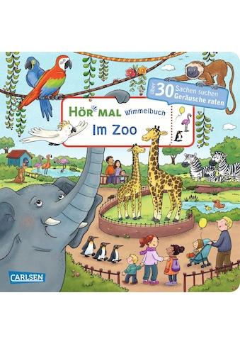 Buch »Hör mal (Soundbuch): Wimmelbuch: Im Zoo - ab 2,5 Jahren / Julia Hofmann, Carolin... kaufen
