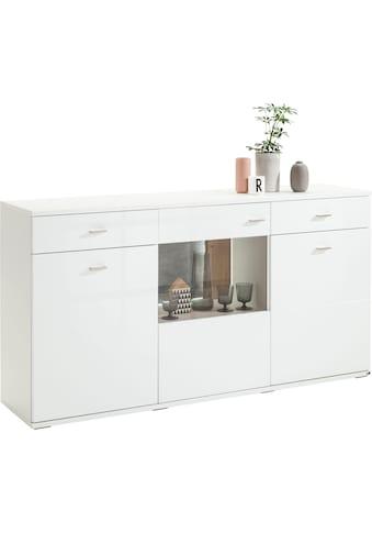 set one by Musterring Sideboard »TACOMA«, Typ 53, Breite 180 cm, mit getönter Glastür kaufen