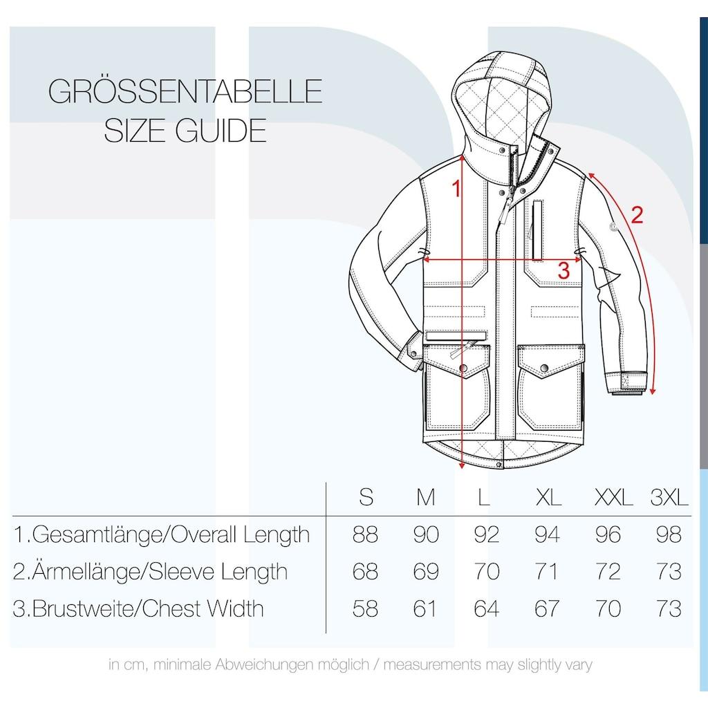 Solid Winterjacke »Bello«, warme Jacke lang geschnitten
