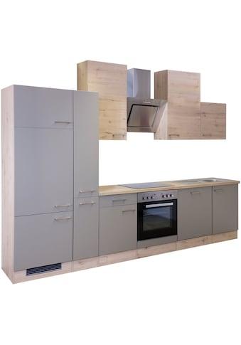 Flex-Well Küchenzeile »Riva«, mit E-Geräten, Breite 310 cm kaufen