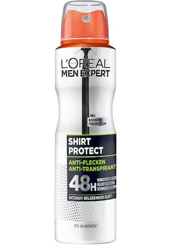 L'ORÉAL PARIS MEN EXPERT Deo-Spray »Shirt Control«, Schützt vor weißen Rückständen &... kaufen