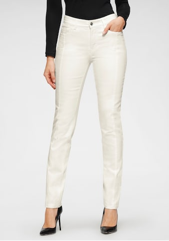 MAC Stretch-Jeans »Angela-Pipe Seam«, Moderner Schnitt durch Längsnaht auf dem... kaufen