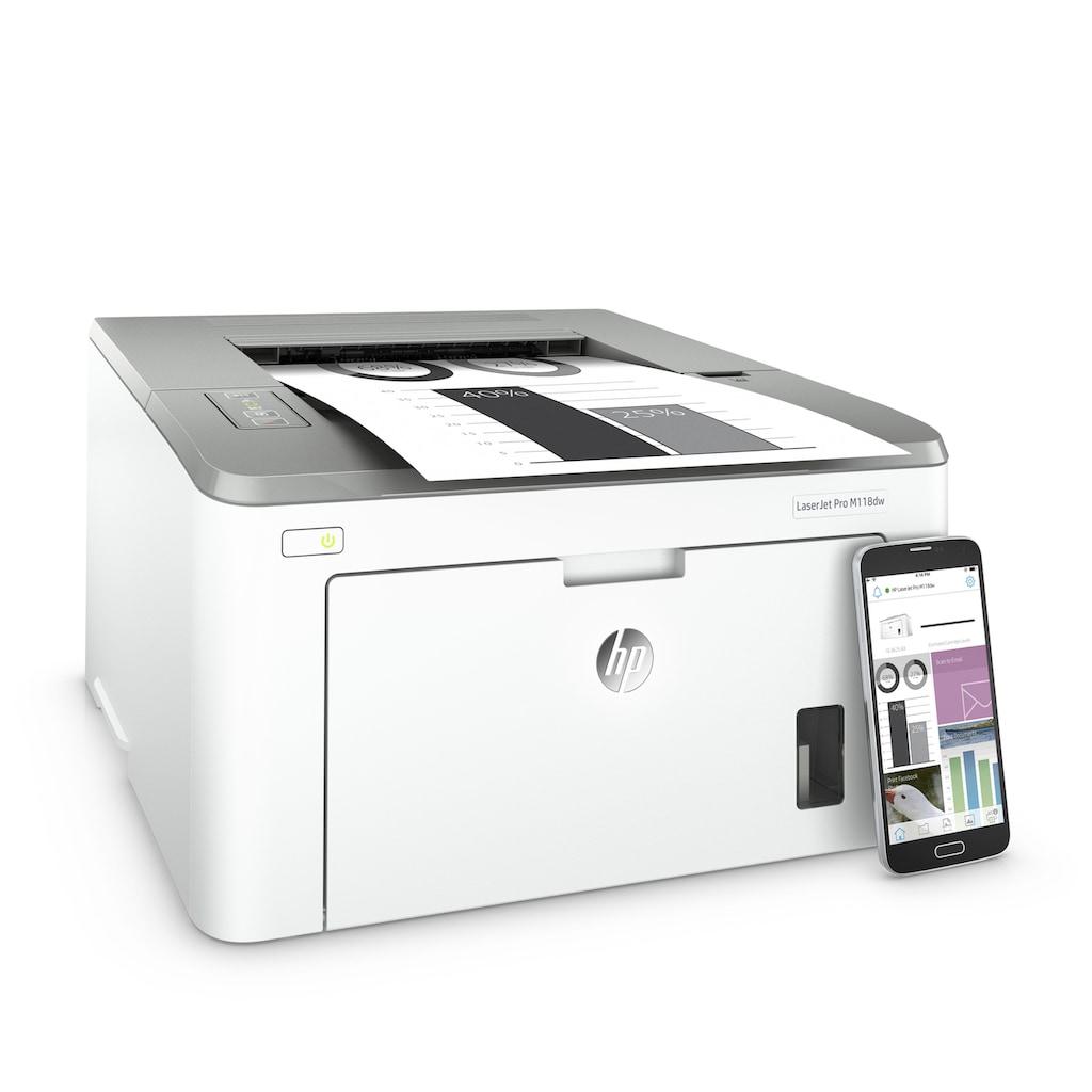 HP LaserJet Pro M118dw Drucker »Drucken«