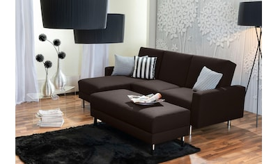 Max Winzer® Schlafsofa »Just Fresh«, mit Rückenverstellung, inklusive Stauraumhocker kaufen