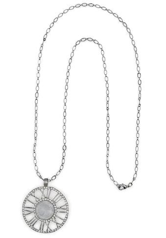 J.Jayz Lange Kette »römische Zahlen«, mit Glassteinen kaufen