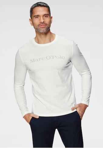 Marc O'Polo Langarmshirt, mit Mar O`Polo Druck kaufen