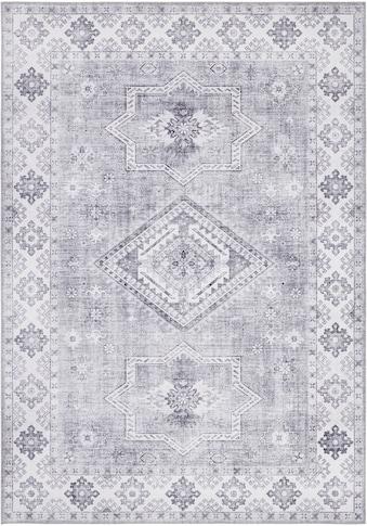NOURISTAN Teppich »Gratia«, rechteckig, 5 mm Höhe, Vintage Design, Orient-Optik,... kaufen