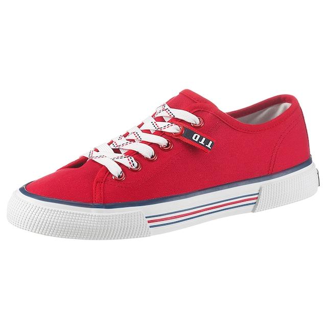 TOM TAILOR Sneaker, mit Streifen