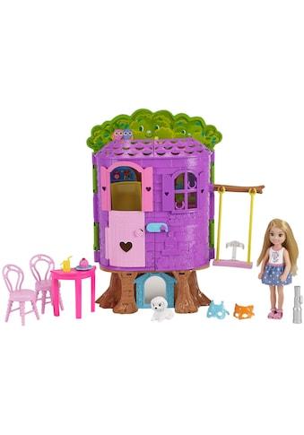 Mattel® Puppenhaus »Barbie Club Chelsea Baumhaus Spielset und Puppe«, Spielset mit Puppe kaufen