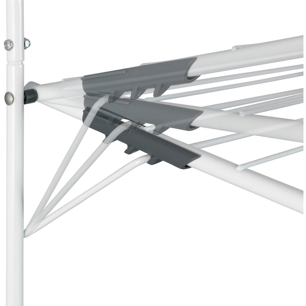 WENKO Wandwäschetrockner, auch zum Anhängen an die Tür geeignet
