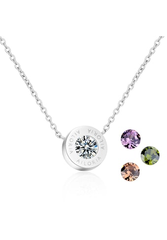 AILORIA Kette mit Anhänger »AGNÈS Halskette Silber«, Hochglanz-Finish kaufen