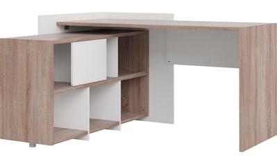 Home affaire Regal-Schreibtisch »Plus«, mit vielen Stauraummöglichkeiten, zeitloses Design kaufen