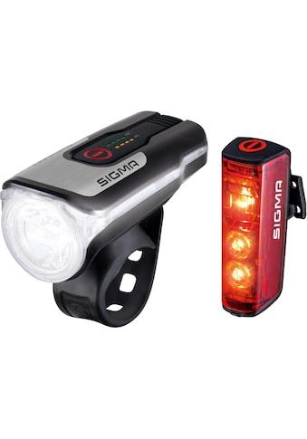 SIGMA SPORT Fahrradbeleuchtung »AURA 80 USB / BLAZE Kpmplett Set« (Set, 3 - tlg., Front -  und Rücklicht) kaufen
