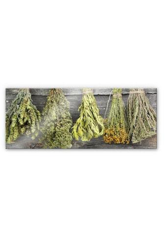 Wall-Art Küchenrückwand »Spritzschutz Frisches Basilikum« kaufen