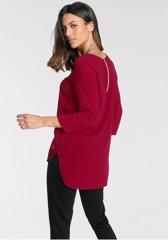 Tamaris Schlupfbluse, mit Zipper am Rücken - NEUE KOLLEKTION kaufen