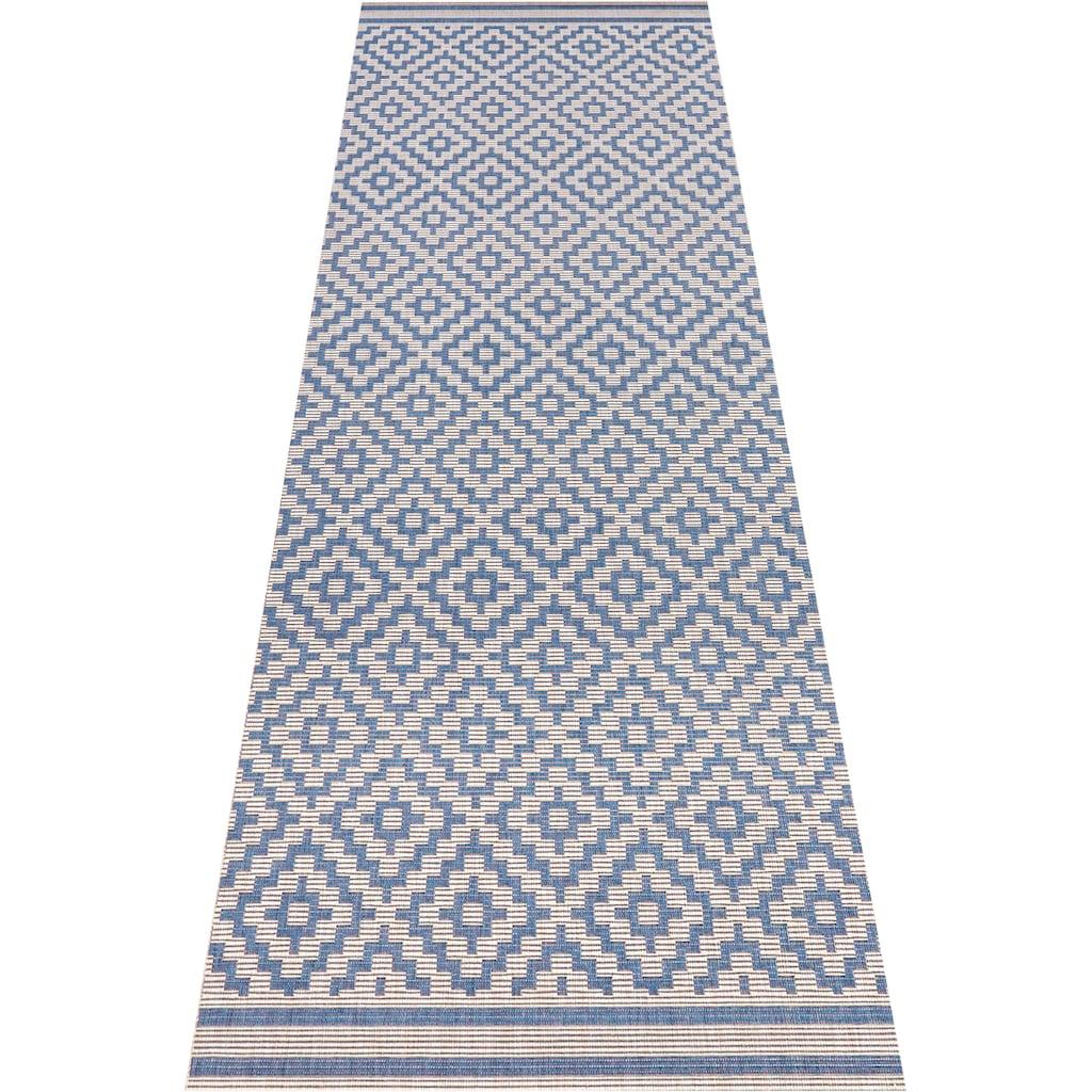 bougari Läufer »Raute«, rechteckig, 8 mm Höhe, Sisal-Optik, In- und Outdoor geeignet